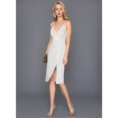 vestidos de cocktail brancos para mulheres