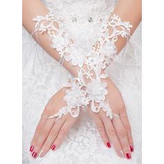 Tulle Ladies' Gloves Bridal Gloves Fingerless 20cm(Approx.7.87inch) Gloves