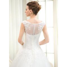 élégantes robes de mariée en satin