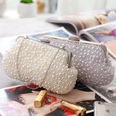 Fashion Handbags Ceremony & Party Pearl Clip Closure Gorgeous Clutches & Evening Bags