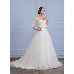 vestidos de novia en forma y destellos