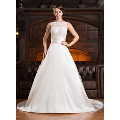 flattering wedding dresses for short brides