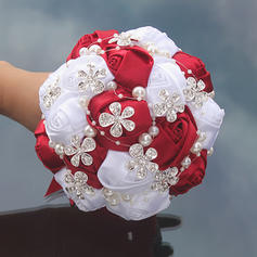 """Bridal Bouquets Free-Form Wedding/Party/Casual Satin 5.91""""(Approx.15cm) Wedding Flowers"""