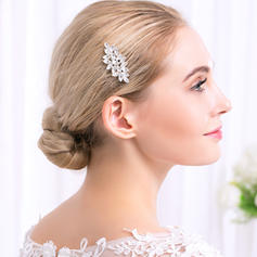 """Combs & Barrettes Wedding/Special Occasion/Party Alloy 2.17""""(Approx.5.5cm) 1.97""""(Approx.5cm) Headpieces"""
