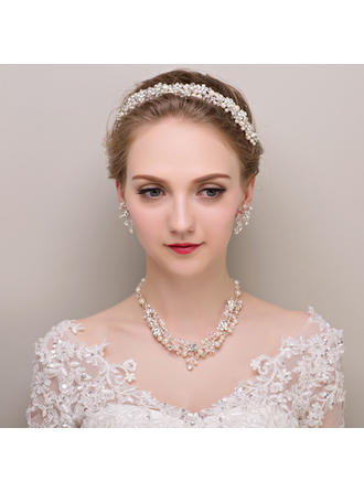 "Jewelry Sets Alloy/Rhinestones/Imitation Pearls Earclip Gorgeous 1.57""(Approx.4cm) Wedding & Party Jewelry"