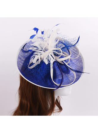 Cambric/Feather/Net Yarn Fascinators Beautiful Ladies' Hats