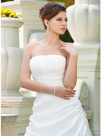 a line lace sheath wedding dresses