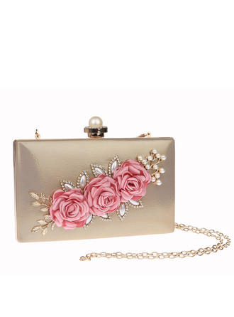 "Clutches PU Magnetic Closure 7.48""(Approx.19cm) 1.18"" (Approx.3cm) Clutches & Evening Bags"