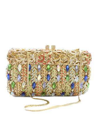 Clutches Wedding/Ceremony & Party Crystal/ Rhinestone/Alloy Magnetic Closure Gorgeous Clutches & Evening Bags