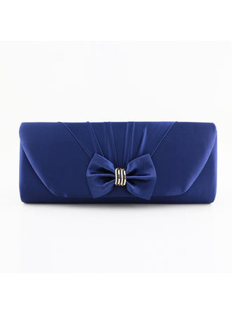 """Clutches Satin Magnetic Closure Gorgeous 10.24""""(Approx.26cm) Clutches & Evening Bags"""