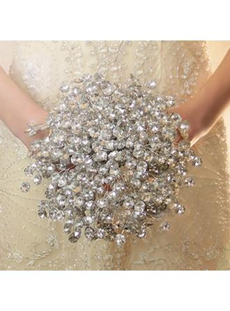 "Bridal Bouquets Free-Form Wedding Crystal 8.66""(Approx.22cm) Wedding Flowers"
