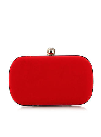 "Clutches Wedding/Ceremony & Party Velvet Charming 6.3""(Approx.16cm) Clutches & Evening Bags"