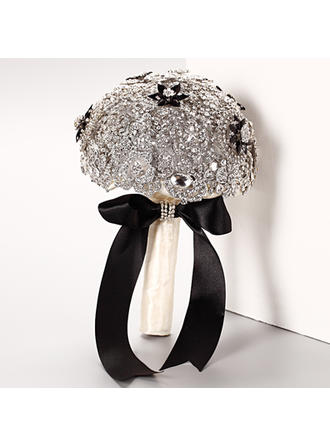 "Bridal Bouquets Round Wedding Crystal/Rhinestone 10.24""(Approx.26cm) Wedding Flowers"