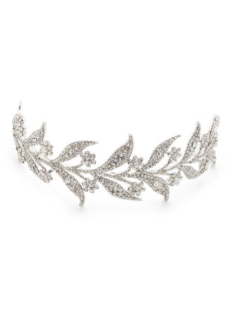 "Tiaras/Headbands Wedding/Special Occasion/Casual/Party Rhinestone/Alloy 9.45""(Approx.24cm) 1.97""(Approx.5cm) Headpieces"