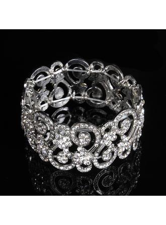 Moda Aleación/Diamantes de imitación Señoras' Pulseras
