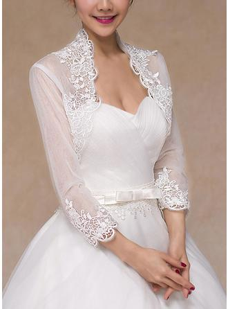 Wrap Wedding Lace Long Sleeve Other Colors Wraps (013101810)