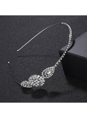 "Tiaras/Headbands Wedding/Special Occasion/Party Alloy 4.53""(Approx.11.5cm) 0.98""(Approx.2.5cm) Headpieces"