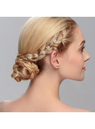 "Hairpins Wedding Rhinestone/Alloy 6.3""(Approx.16cm) 4.72""(Approx.12cm) Headpieces"
