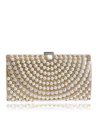 Handtaschen/Umhängetasche Hochzeit/Zeremonie & Party PU Busseln Arretieren Verschluss Elegant Clutches & Abendtaschen