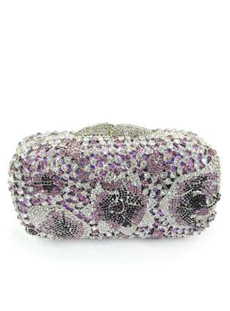 Kaunis Kristalli/Strassi/Metalliseos Kytkimet/Luxury Kytkimet