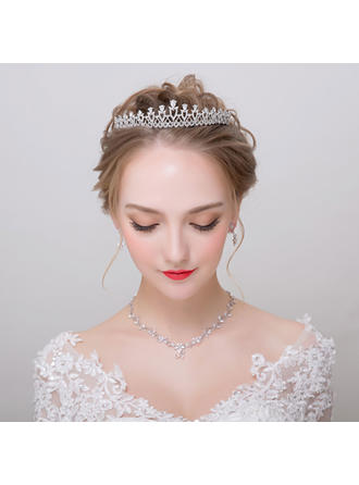 Jewelry Sets Alloy/Zircon Earclip Ladies' Classic Wedding & Party Jewelry