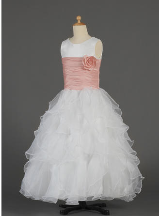 pink flower girl dresses 16