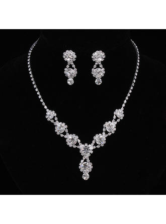 Gorgeous Legering/Strass Damer' Smycken Sets