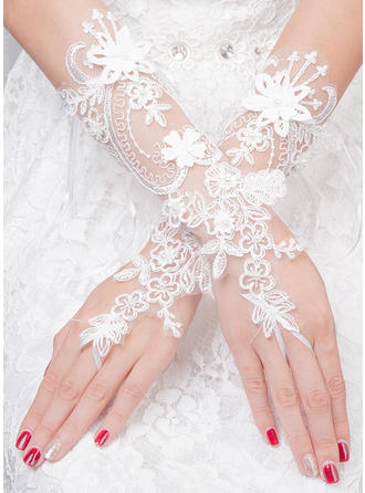 Tulle Ladies' Gloves Bridal Gloves Fingerless 30cm(Approx.11.81inch) Gloves (014192233)