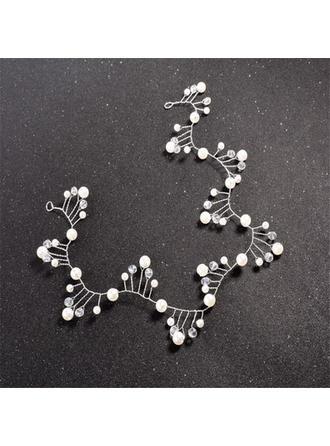 Special Crystal/Imitation Pearls Headbands (Sold in single piece)