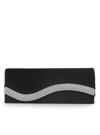 Clutches Wedding/Ceremony & Party Satin Magnetic Closure Elegant Clutches & Evening Bags