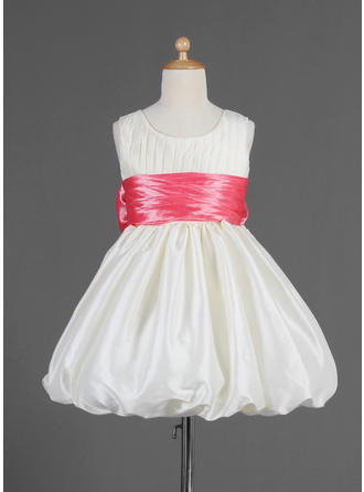 Knee-length Sleeveless Taffeta With Stunning Flower Girl Dresses