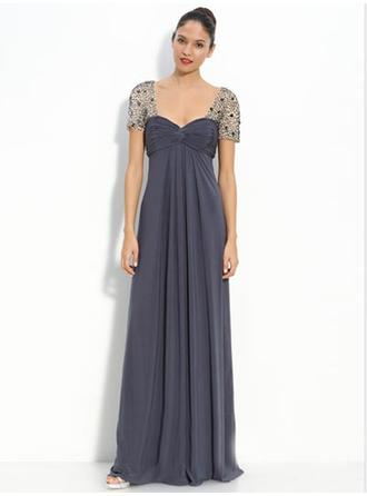 Empire Floor-Length Mother of the Bride Dresses