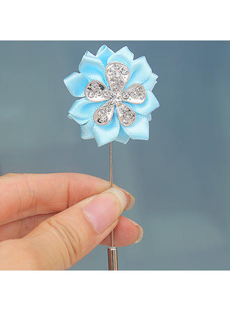 """Boutonniere Free-Form Wedding/Party Satin 1.57"""" (Approx.4cm) Wedding Flowers"""