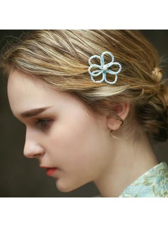 "Hairpins Special Occasion/Casual/Outdoor/Art photography 2.76""(Approx.7cm) 1.97""(Approx.5cm) Simple Headpieces"