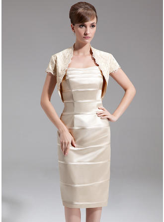 Sheath/Column Sweetheart Charmeuse Flattering Mother of the Bride Dresses