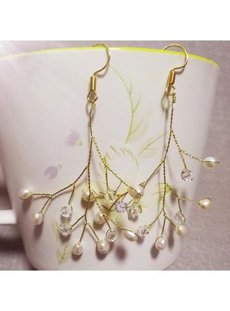 Ohrringe Faux-Perlen Faux-Perlen Damen Elegant Hochzeits- & Partyschmuck