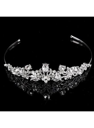 Tiaras Wedding/Special Occasion/Party/Carnival Rhinestone/Alloy Unique Ladies Headpieces