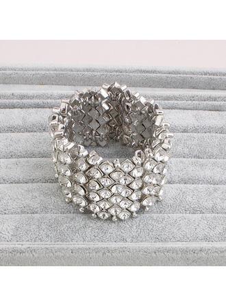 Bracelets Strass Dames Brillant Mariage & Bijoux de Soirée