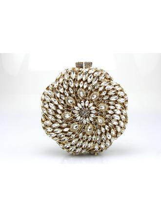 Handtaschen/Wristlet Taschen Hochzeit/Zeremonie & Party Satin/Acryl Stutzen Verschluss Glänzende Clutches & Abendtaschen