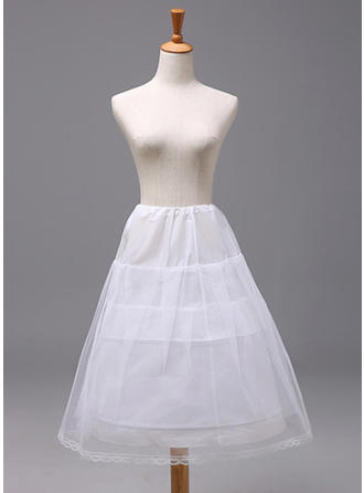 Petticoats Polyester Flower Girl Slip 2 Tiers Wedding Petticoats (037190889)