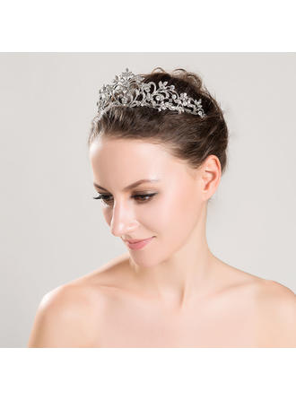 "Tiaras Wedding/Special Occasion Alloy 5.91""(Approx.15cm) 2.36""(Approx.6cm) Headpieces"
