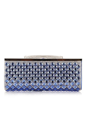 "Clutches Wedding/Ceremony & Party PU Rhinestone Style 6.69""(Approx.17cm) Clutches & Evening Bags"