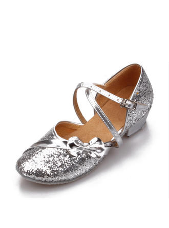 Women's Ballroom Sparkling Glitter Dance Shoes