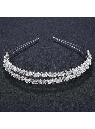 "Tiaras Wedding/Special Occasion/Party Crystal 0.67""(Approx.1.7cm) Unique Headpieces"