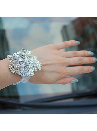 "Wrist Corsage Free-Form Wedding/Party Satin 2.36"" (Approx.6cm) Wedding Flowers"