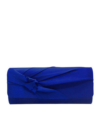 Clutches/Luxury Clutches Wedding/Ceremony & Party/Casual & Shopping/Office & Career Satin Snap Closure Elegant Clutches & Evening Bags