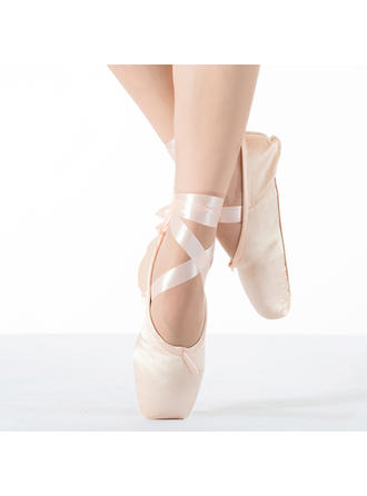 Women's Pointe Shoes Flats Fabric Dance Shoes