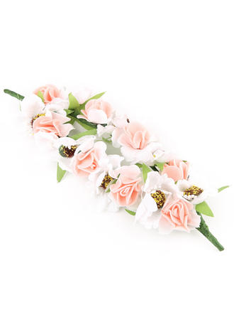 """Headbands Wedding/Outdoor/Party/Art photography Polyester 9.45""""(Approx.24cm) 9.45 """"(Approx.24cm) Headpieces"""