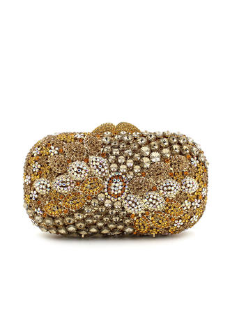 "Clutches/Luxury Clutches Wedding/Ceremony & Party Crystal/ Rhinestone Pillow bag 6.69""(Approx.17cm) Clutches & Evening Bags"