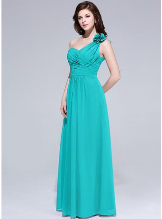 tea length purple bridesmaid dresses
